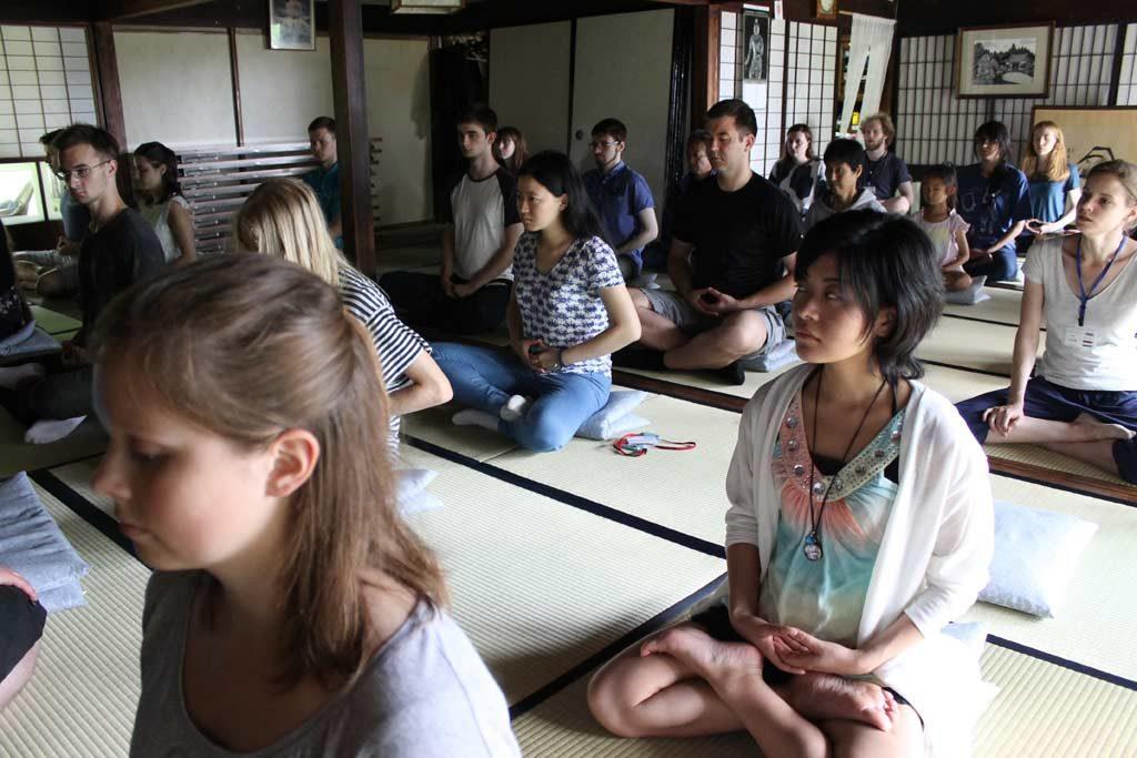 Zen meditation in Uda