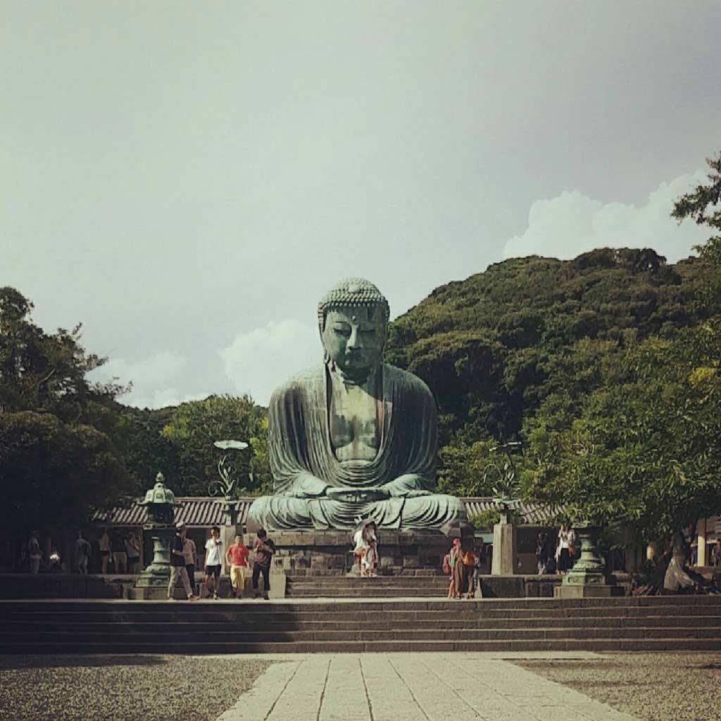 Buddha statue in Amakura