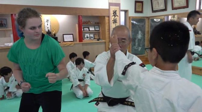 Shorinji Kempo experience! – Omura, 16th June 2018